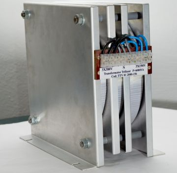 Products Three-phase toroidal transformers