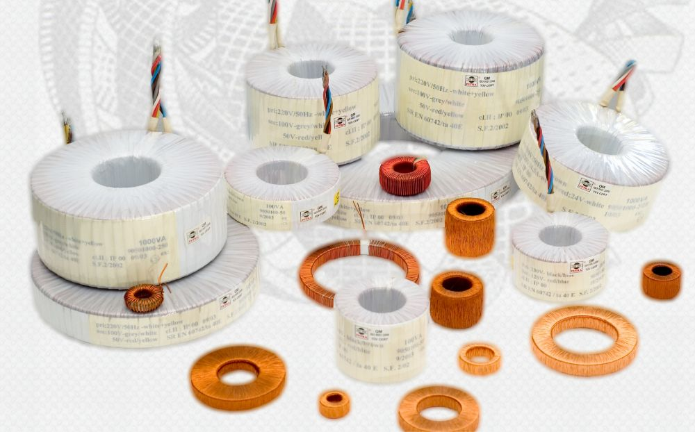 Products Toroidal transformers